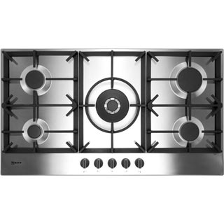 NEFF N70 T29DS69N0 Built In Gas Hob - Stainless Steel - T29DS69N0_SS - 1