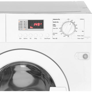 NEFF V6320X1GB Built In Washer Dryer - White - V6320X1GB_WH - 5
