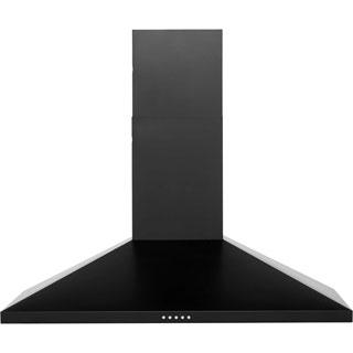 Newworld Unbranded CHIM90BK Built In Chimney Cooker Hood - Black - CHIM90BK_BK - 1