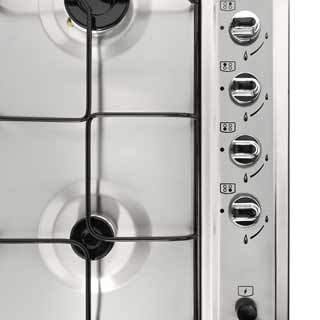 Newworld NWGHU601 Built In Gas Hob - Stainless Steel - NWGHU601_SS - 2