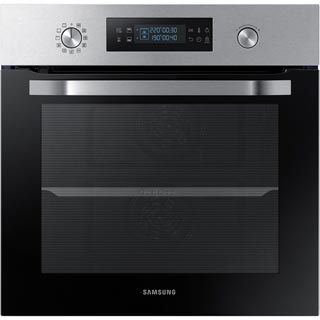 Samsung Dual Cook NV66M3571BS Built In Electric Single Oven - Stainless Steel - NV66M3571BS_SS - 1