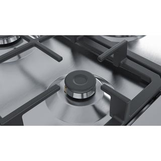Bosch Serie 4 Pgq7b5b90 Built In Gas Hob Stainless Steel