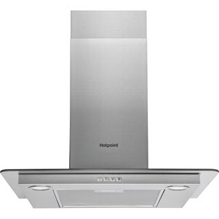 Hotpoint PHFG6.4FLMX Built In Chimney Cooker Hood - Stainless Steel - PHFG6.4FLMX_SS - 1