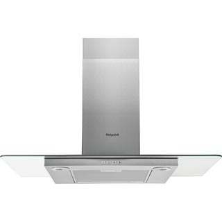 Hotpoint PHFG9.4FLMX Built In Chimney Cooker Hood - Stainless Steel - PHFG9.4FLMX_SS - 1