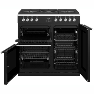 Stoves Precision DX S900G Gas Range Cooker - Black - Precision DX S900G_BK - 3