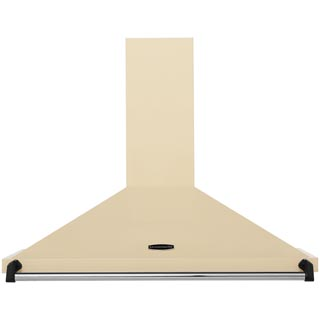 Rangemaster Classic CLAHDC90CR/C Built In Chimney Cooker Hood - Cream / Chrome - CLAHDC90CR/C_CR - 1