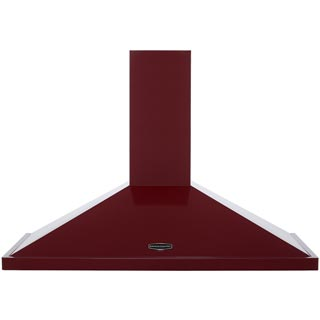 Rangemaster LEIHDC100CY/C Built In Chimney Cooker Hood - Cranberry - LEIHDC100CY/C_CY - 1