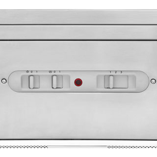 Rangemaster LEIHDC100SS/C Built In Chimney Cooker Hood - Stainless Steel - LEIHDC100SS/C_SS - 2