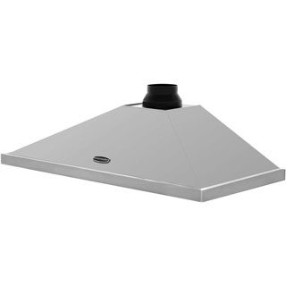 Rangemaster LEIHDC100SS/C Built In Chimney Cooker Hood - Stainless Steel - LEIHDC100SS/C_SS - 4