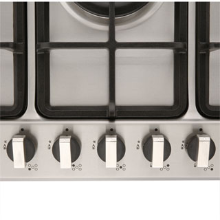 Rangemaster RMB70HPNGFSS Built In Gas Hob - Stainless Steel - RMB70HPNGFSS_SS - 2