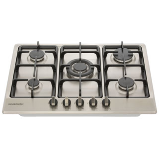 Rangemaster RMB70HPNGFSS Built In Gas Hob - Stainless Steel - RMB70HPNGFSS_SS - 4