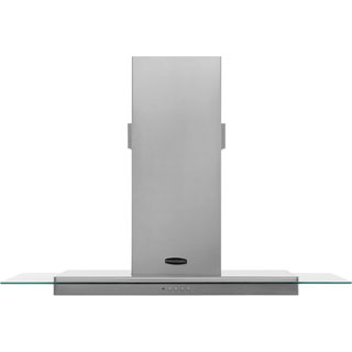 Rangemaster Toledo RMHDT110SS Built In Chimney Cooker Hood - Stainless Steel / Glass - RMHDT110SS_SSG - 1