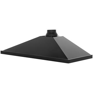 Rangemaster UNBHDC110BL Built In Chimney Cooker Hood - Black - UNBHDC110BL_BK - 4