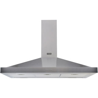 Stoves S1100 STER CHIM Built In Chimney Cooker Hood - Stainless Steel - S1100 STER CHIM_SS - 1