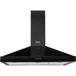 Stoves S900 STER CHIM Built In Chimney Cooker Hood - Black - S900 STER CHIM_BK - 1