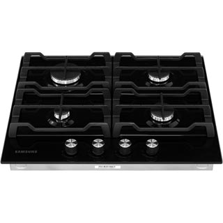 Samsung Prezio NA64H3000AK Built In Gas Hob - Black / Glass - NA64H3000AK_BKG - 5