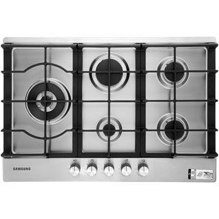 Samsung NA75J3030AS Built In Gas Hob - Stainless Steel - NA75J3030AS_SS - 1