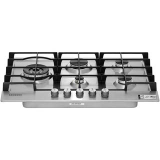 Samsung NA75J3030AS Built In Gas Hob - Stainless Steel - NA75J3030AS_SS - 5