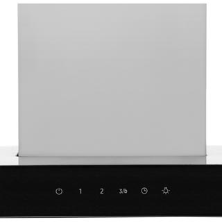 Samsung Prezio NK24M5070BS Built In Chimney Cooker Hood - Stainless Steel / Black Glass - NK24M5070BS_SSB - 2
