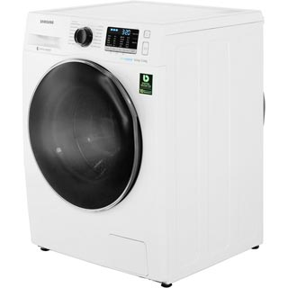 Samsung ecobubble™ WD80J5A10AW Washer Dryer - White - WD80J5A10AW_WH - 2