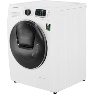 Samsung AddWash™ ecobubble™ WD80K5B10OW Washer Dryer - White - WD80K5B10OW_WH - 2