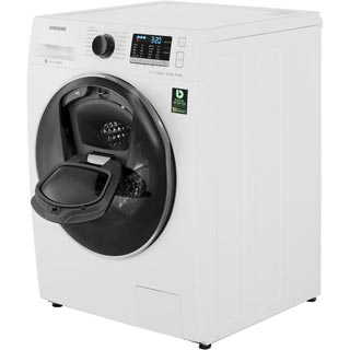 Samsung AddWash™ ecobubble™ WD80K5B10OW Washer Dryer - White - WD80K5B10OW_WH - 3