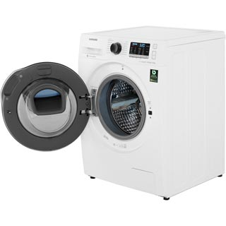 Samsung AddWash™ ecobubble™ WD80K5B10OW Washer Dryer - White - WD80K5B10OW_WH - 4