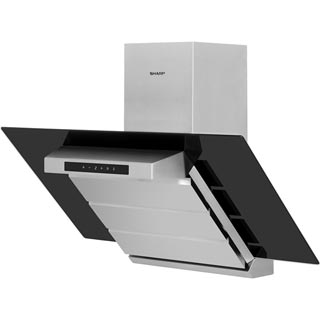 Sharp KL-910TBMH Built In Chimney Cooker Hood - Inox - KL-910TBMH_IX - 5