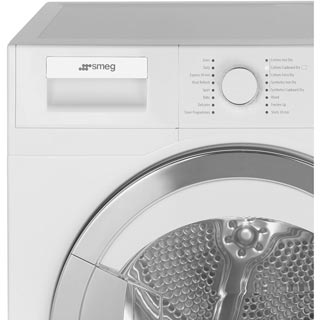 Smeg DRF81AUK 8Kg Heat Pump Tumble Dryer - White - A+ Rated - DRF81AUK_WH - 5