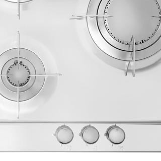Smeg Piano Design P106ES Built In Gas Hob - Stainless Steel - P106ES_SS - 4