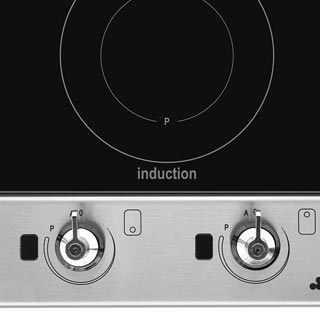 Smeg Classic PGF32I-1 Built In Induction Hob - Stainless Steel - PGF32I-1_SS - 3