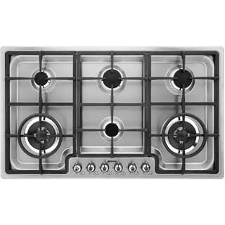Smeg Classic PGF96 Built In Gas Hob - Stainless Steel - PGF96_SS - 1