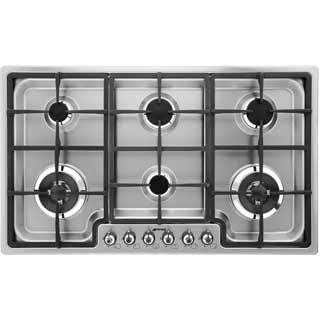 Smeg Classic PGF96 Built In Gas Hob - Stainless Steel - PGF96_SS - 3