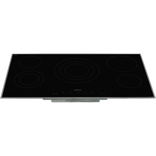 Smeg SE395ETB Built In Ceramic Hob - Black - SE395ETB_BK - 3