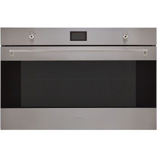 Smeg Classic SF9390X1 Built In Electric Single Oven - Stainless Steel - SF9390X1_SS - 1