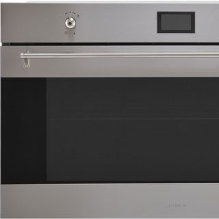 Smeg Classic SF9390X1 Built In Electric Single Oven - Stainless Steel - SF9390X1_SS - 2