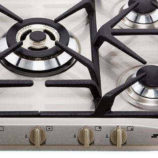 Smeg Cucina SR275XGH2 Built In Gas Hob - Stainless Steel - SR275XGH2_SS - 4