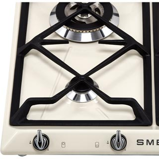 Smeg Victoria SR964NGH Built In Gas Hob - Black - SR964NGH_BK - 3
