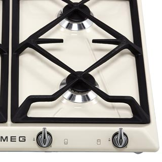 Smeg Victoria SR964NGH Built In Gas Hob - Black - SR964NGH_BK - 4