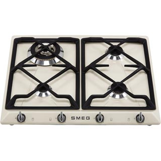 Smeg Victoria SR964NGH Built In Gas Hob - Black - SR964NGH_BK - 5