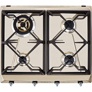 Smeg Victoria SR964XGH Built In Gas Hob - Stainless Steel - SR964XGH_SS - 1