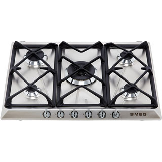 Smeg Victoria SR975XGH Built In Gas Hob - Stainless Steel - SR975XGH_SS - 2