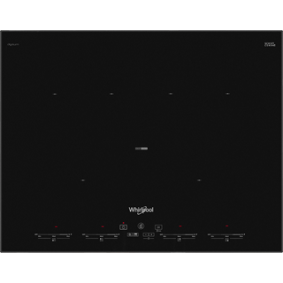 Whirlpool SMO654OF/BT/IXL Built In Induction Hob - Black - SMO654OF/BT/IXL_BK - 1