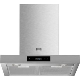 Stoves ST 700 BCH Built In Chimney Cooker Hood - Stainless Steel - ST 700 BCH_SS - 1