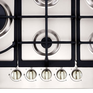 Stoves GHU75C Built In Gas Hob - Stainless Steel - GHU75C_SS - 2