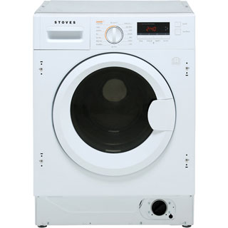 Stoves IWD8614 Built In Washer Dryer - White - IWD8614_WH - 1