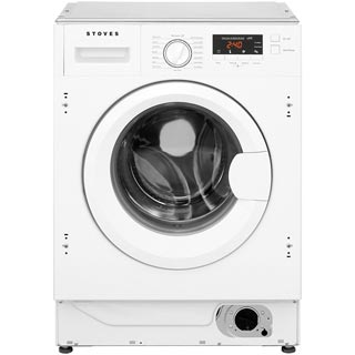 Stoves IWM8KG Integrated 8Kg Washing Machine with 1400 rpm - A+++ Rated - IWM8KG_WH - 1