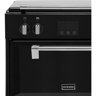 Stoves Richmond600Ei Electric Cooker - Black - Richmond600Ei_BK - 2