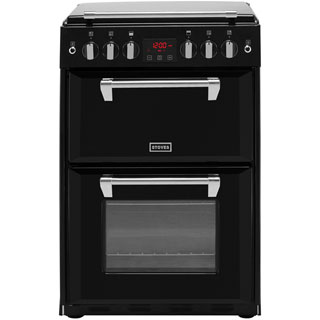 Stoves Richmond600G Gas Cooker - Black - Richmond600G_BK - 1
