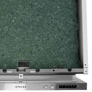 Stoves SDW60 Built In Standard Dishwasher - Silver - SDW60_BK - 4